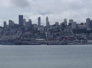Sao Francisco visto de Alcatraz