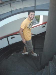 Parque das Ruínas escada