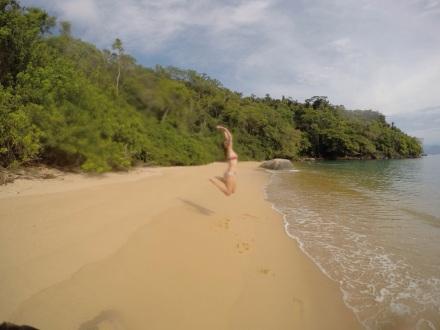 Praia São Gonçalinho - Paraty - Meu Mundo Por Aí
