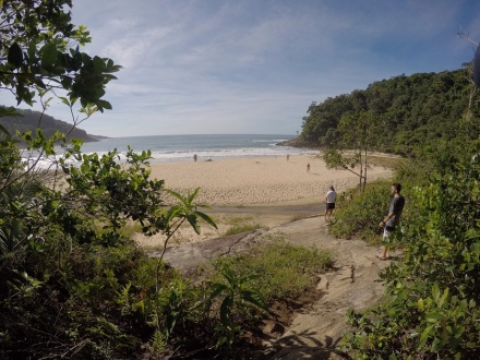 Trilha Praia Brava - Trindade - Paraty - Meu Mundo Por Aí