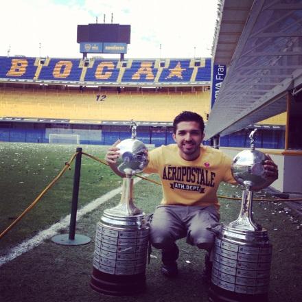 Taça Libertadores - Boca Juniors - Meu Mundo Por Aí
