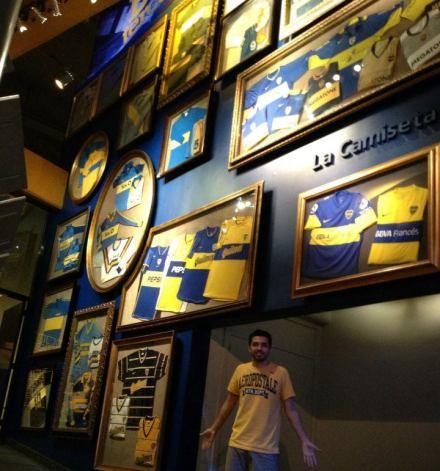 Sala de Troféus Boca Junior - Buenos Aires - Meu Mundo Por Aí