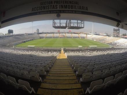Estádio Colo colo - Santiago - Meu Mundo Por Aí