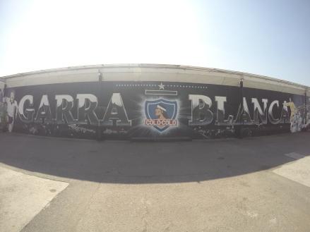 Estádio do Colo colo - Santiago - Meu Mundo Por Aí